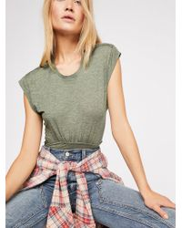 Free People - We The Free Summers Here Muscle Tee - Lyst