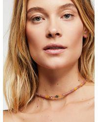 Free People - Asbury Beaded Collar - Lyst
