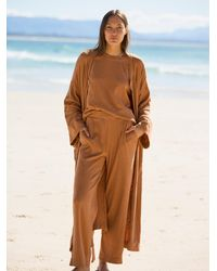 Free People Golden Sands Three Piece Set - Brown