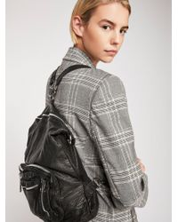Free People - Chelsea Convertible Leather Backpack - Lyst
