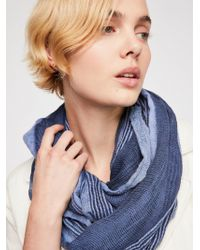 Free People - Edie Light-weight Woven Scarf - Lyst