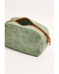 Free People Medium Beauty Case - Green