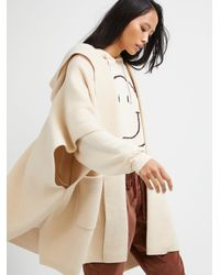 Free People All I Need Cozy Hooded Kimono - Natural
