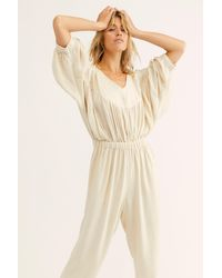Free People Absolute Heaven Playsuit By Endless Summer - Natural