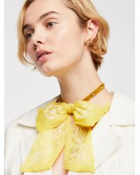 Free People - Bowie Tie Necklace - Lyst