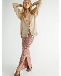 Free People - Saturday Sweater Skirt - Lyst