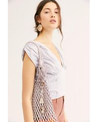 Free People - Geo Crystal Beaded Bag Charm - Lyst