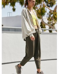 Free People Modern Muse Harem Trousers By Fp Movement - Green