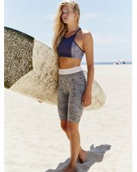 Free People Fired Up Bike Shorts By Fp Movement - Multicolour