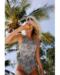 Free People Nayda One Piece Swimsuit By Stone Fox Swim - Multicolour