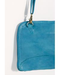 Free People We The Free Traveler Wallet - Blue