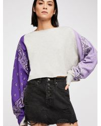Free People - Baba Bandana Pullover - Lyst