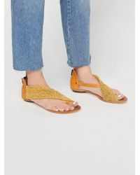 Free People - Felis Woven Sandal - Lyst