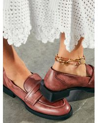 Free People Lennox Loafers - Multicolor