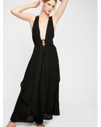 Free People - Just Right For You Maxi Dress - Lyst
