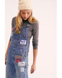 e0488af823 Free People - Billy Hill Overalls By Riley Vintage - Lyst
