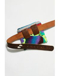 Free People - Isabella Embroidered Western Belt Bag By Tricia Fix - Lyst