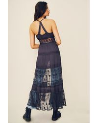 Free People On My Way Maxi Slip By Intimately - Chemise - Blue