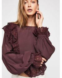 Free People - Take It Easy Top - Lyst