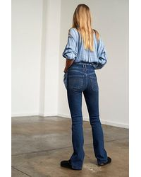 Free People Shayla Bootcut Jeans - Blue