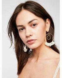 Free People - Honeyhill Hoop Earrings - Lyst
