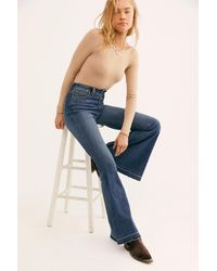 Free People Irreplaceable Flare Jeans By We The Free - Blue