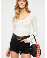 Free People - Levi's 501 High-rise Denim Shorts - Lyst