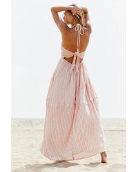 Free People Make A Splash Maxi Dress By Endless Summer - Pink