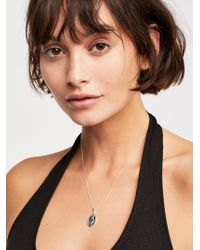 Free People - Victoria Saint Charm Necklace - Lyst