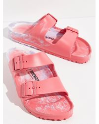 Free People Eva Arizona Birkenstock Sandals - Pink
