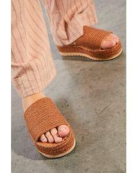Matisse Bree Woven Platform Sandals - Multicolour