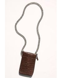 Free People All Night Chunky Chain Clutch By Fp Collection - Multicolor