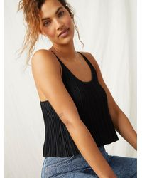 Free People Get To Know You Cami - Black