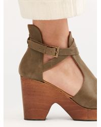 Free People Cedar Clog By Fp Collection - Multicolor