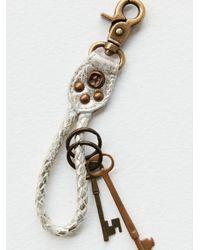 Free People Everyday Keychain - Metallic