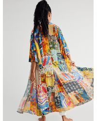 Free People Violet Duster - Multicolor