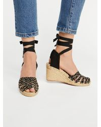 Free People - Amalfi Coast Wedge - Lyst