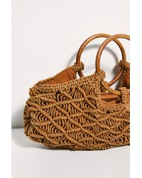 Free People Point Break Macrame Clutch By Fp Collection - Multicolor
