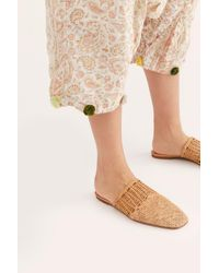 Free People Quilted Garcon Pants By Magnolia Pearl - Natural