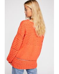 Free People - Crashing Waves Pullover - Lyst