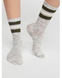Free People - Going Places Crew Sock - Lyst