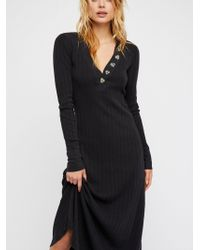Free People - Sunflower Maxi Dress - Lyst