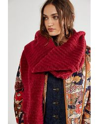 Free People - Ripple Recycled Blend Blanket Scarf - Lyst