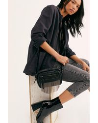 Free People Nora Fringe Crossbody By Fp Collection - Black