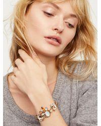 Free People - Frozen Flowers Stone Bracelet - Lyst