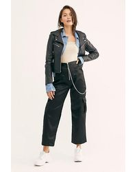 Free People Riot Pant By The Ragged Priest - Black