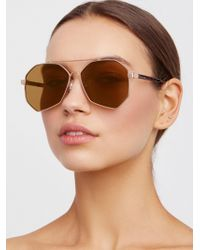 Free People | Right Angle Aviator | Lyst