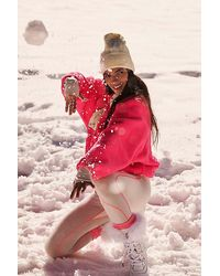 Fp Movement Hit The Slopes Colorblock Pullover - Pink