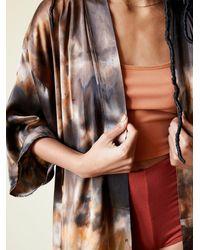 Free People Element Silk Kimono - Multicolor