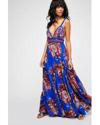 Free People - Manarola Maxi Dress By Ranna Gill - Lyst